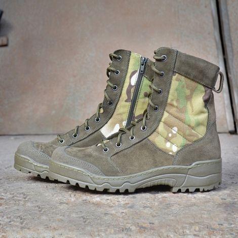 Ботинки с высокими берцами Garsing G.R.O.M. ZIP CAMO MULTI