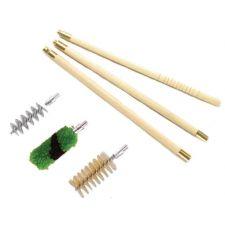 Набор для чистки ShotTime кал.12, для гладк.оружия, деревянный шомпол + 3 ерша, пластиковый пенал