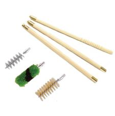 Набор для чистки ShotTime кал.20, для гладк.оружия, деревянный шомпол + 3 ерша, пластиковый пенал