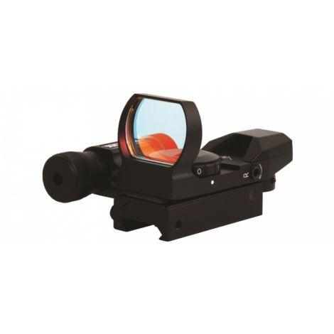 Sightmark панорамный с лазерным целеуказателем, крепление на планку 11 мм
