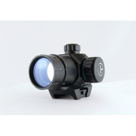 Target Optic 1х22М закрытого типа на Weaver, зелёная/красная точка