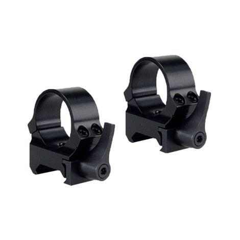 Быстросъемные кольца QRW на Weaver 30 мм низкие матовые