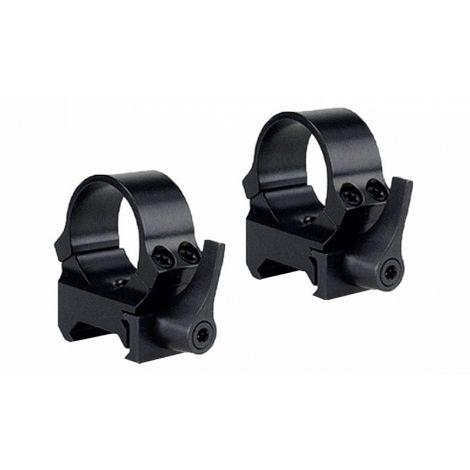 Быстросъемные кольца QRW на Weaver 30 мм высокие матовые
