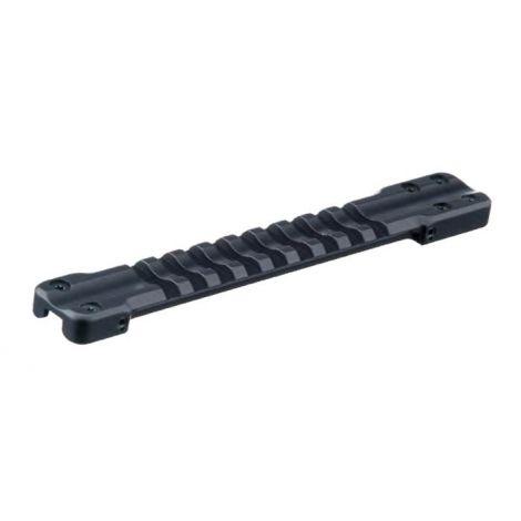 Основание Weaver для установки на вентилируемую планку гладкоствольных ружей, ширина 6,0-7,1мм