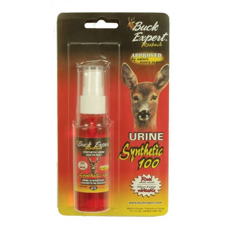 Приманки Buck Expert для косули - искусственный ароматизатор выделений самки (спрей) 60 мл