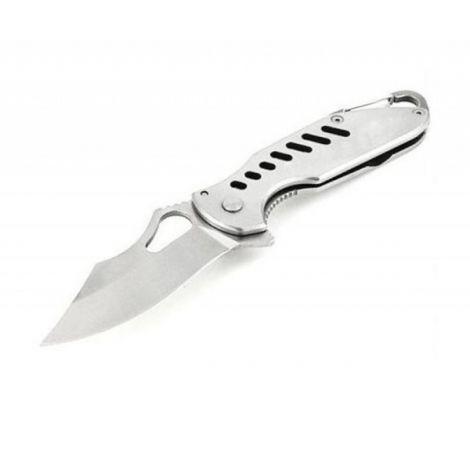 Нож Sanrenmu серии Outdoor, лезвие 64 мм, металлическая рукоять