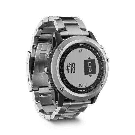 Garmin FENIX® 3 HR серебряный с титановым браслетом