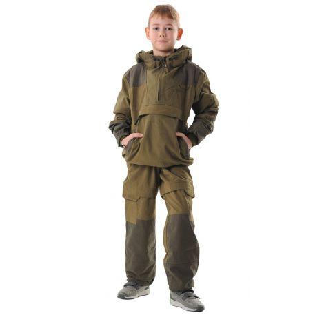 Костюм «Элит Барьер» детский (ткань: смесовая, цвет: хаки) Маугли