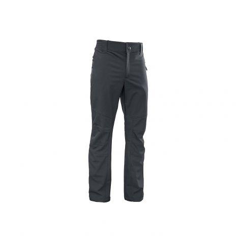 Брюки «Лиман» (ткань: Софт-шелл, цвет: черный) Grayling