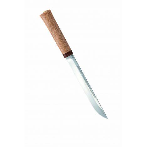 Нож Бурятский средний (орех), 95х18