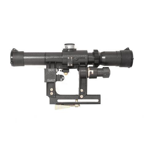 Прицел оптический ПОСП 2,5-5х24 В (Сайга, Вепрь 1/400)