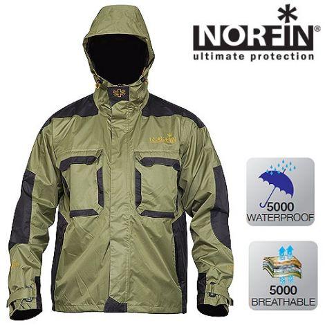 Куртка Norfin (Норфин) PEAK GREEN
