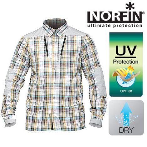 Рубашка Norfin (Норфин) SUMMER LONG SLEEVES