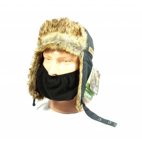 Шапка-ушанка «ALASKA TRAPPER» комбинированная с ветрозащитной маской Remington