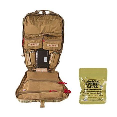 Тактический рюкзак-аптечка с комплектом медикаментов и принадлежностей North American NAR-4