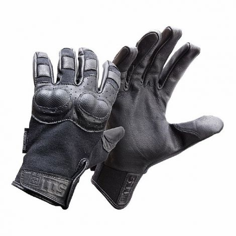 Перчатки тактические с кевларовой защитой запястья 5.11 HARD TIME