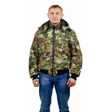 """Куртка мужская """"Бомбер"""" демисезонная тк.Мак-мембрана """"Мультикам"""" ( с капюшоном)"""