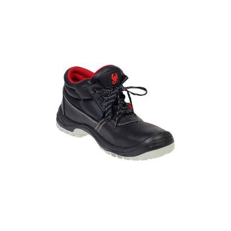 Ботинки кожаные ПУ/ТПУ (Скорпион)