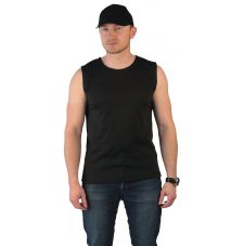 Безрукавка-афганка черная