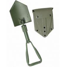 Лопата BW MIL-TEC с чехлом, цвет Olive