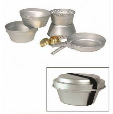 Набор посуды кухон. (8 предметов) алюмин. MIL-TEC