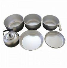 Набор посуды кухонный алюминиевый MIL-TEC