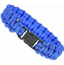 Браслет паракорд MIL-TEC (15mm), цвет Blue