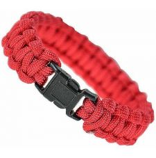 Браслет паракорд MIL-TEC (15mm), цвет Red