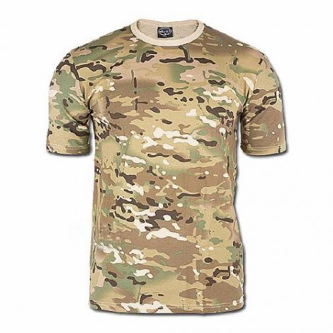 Mil-tec T-shirt camouflage MULTITARN Basic T-Shirt