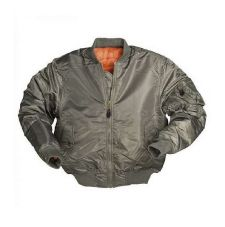 Куртка летная TYP МА1 Mil-Tec, цвет Pes Olive