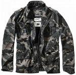 Куртка BRITANNIA Brandit, цвет Darkcamo