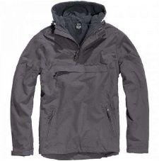 Куртка WINDBREAKER Brandit, цвет Anthrazit