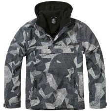Куртка WINDBREAKER Brandit, цвет Night/Camo/Digital