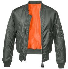 Куртка летная МА1 Brandit, цвет Anthracite