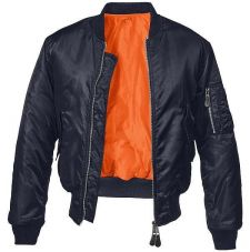 Куртка летная МА1 Brandit, цвет Dark Navy