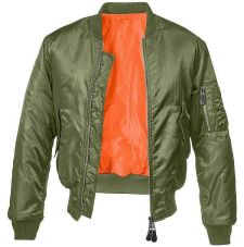 Куртка летная МА1 Brandit, цвет Olive