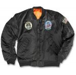 Куртка летная детская CWU с нашивкой, цвет Black