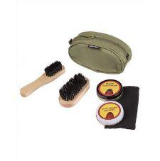 Набор для чистки обуви MIL-TEC, цвет Olive