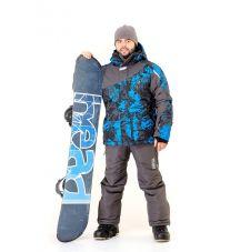 Костюм «Ирбис» (ткань: Dobby, цвет: синий) Payer
