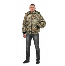 "Куртка мужская ""Бомбер"" демисезонная тк.Мак-мембрана ""Мультикам"""