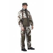 """Флисовый костюм """"Панда"""" кмф """"Зимний лес"""" с накладками,350г/м2"""