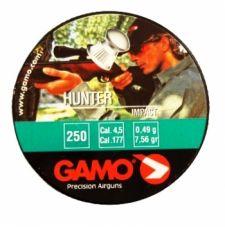 Пули пневматические GAMO Hunter 4,5 мм 0,49 грамма (250 шт.)