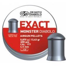 Пули пневматические EXACT Monster Diabolo 4,5 мм 0,87 грамма (400 шт.)