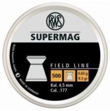 Пули пневматические RWS Supermag 4,5 мм 0,60 грамма (500 шт.)