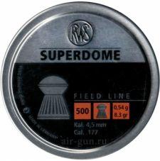 Пули пневматические RWS SUPERDOME 4,5 мм 0,54 грамма (500 шт.)