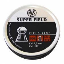 Пули пневматические RWS Superfield 4,5 мм 0,54 грамма (500 шт.)