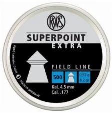 Пули пневматические RWS Superpoint Extra 4,5 мм 0,53 грамма (500 шт.)