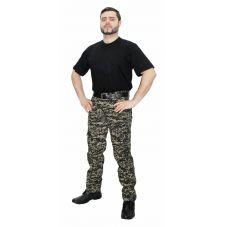 Брюки «Армия» (ткань: смесовая, цвет: цифра хаки) 7.62