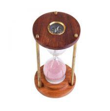 Часы песочные с компасом арт. 6