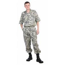 "Рубашка мужская ""Сафари"" 100% хлопок (бязь)"